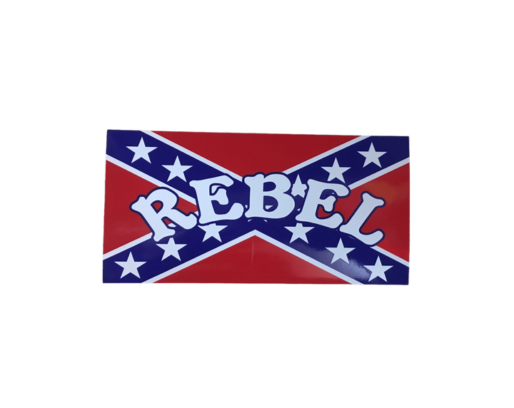 """Rebel"" Confederate Flag Sticker"