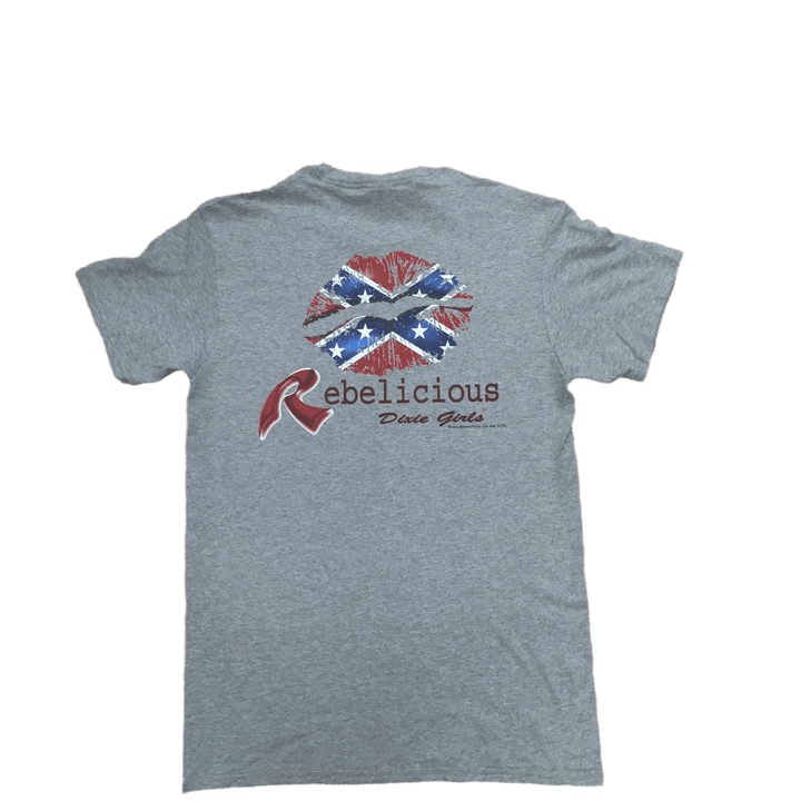 Rebelious Dixie Girl T-Shirt