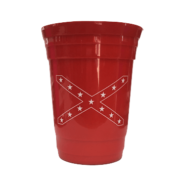Red Confederate Flag Solo Cup