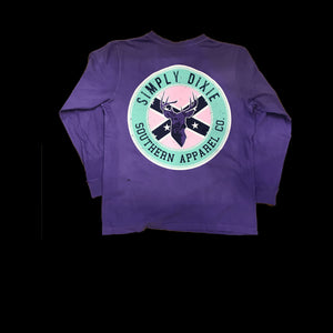 Simply Dixie Buck Shot - Long Sleeve