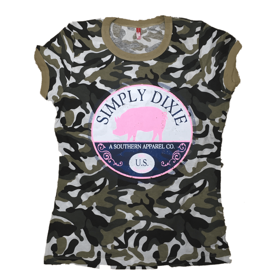 Simply Dixie Camo Pajama Set