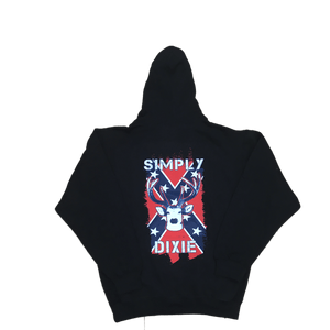 Simply Dixie Confederate Flag Deer Sweatshirt