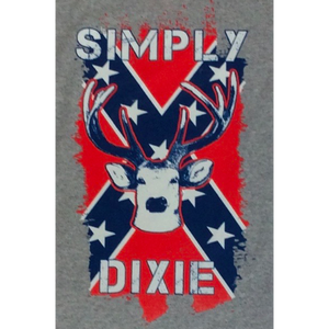 Simply Dixie Confederate Flag Deer T-Shirt