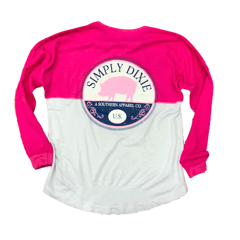 Simply Dixie Pig Long Sleeved T-Shirt