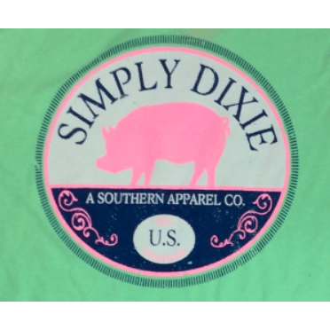 Simply Dixie Pink Pig T-Shirt
