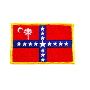 South Carolina Sovereignty Flag Patch