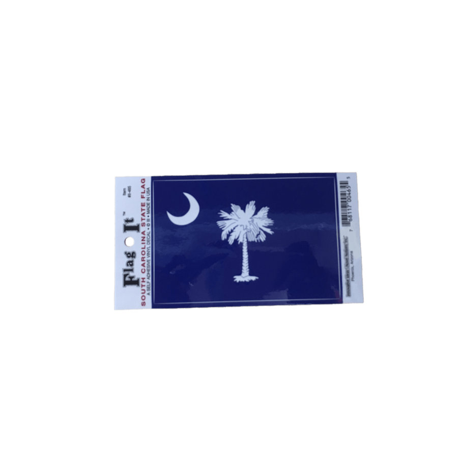 South Carolina State Flag Sticker