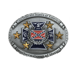 Southern Cross Of Honor Buckle