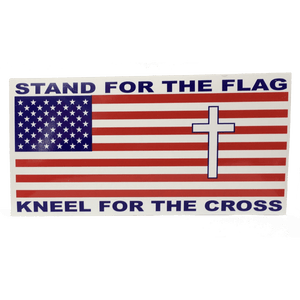 Stand For The Flag Sticker