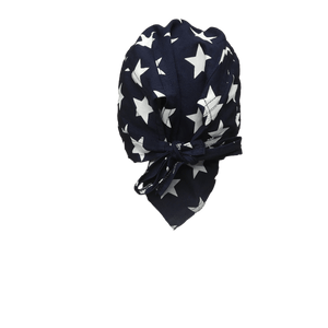 Starry Blue Head Wrap