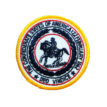 The Confederate States Of America Iron-On Patch