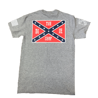 The Dixie Shop Confederate Flag T-Shirt