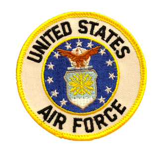 U.S. Air Force Patch (Circle)