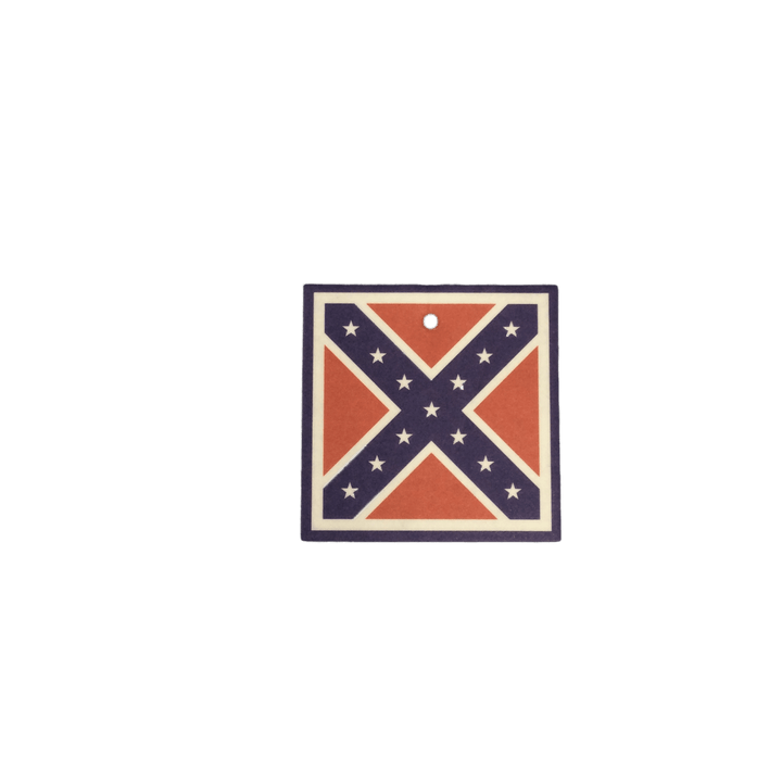 Vanilla Confederate Flag Air Freshener