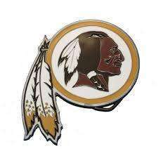 Washington Redskins NFL team belt buckles