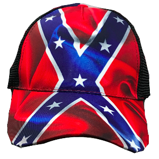Waving Confederate Flag Hat