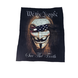 We The People Fleece Throw - Blanket