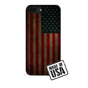Wooden Vintage American Flag iPhone Case