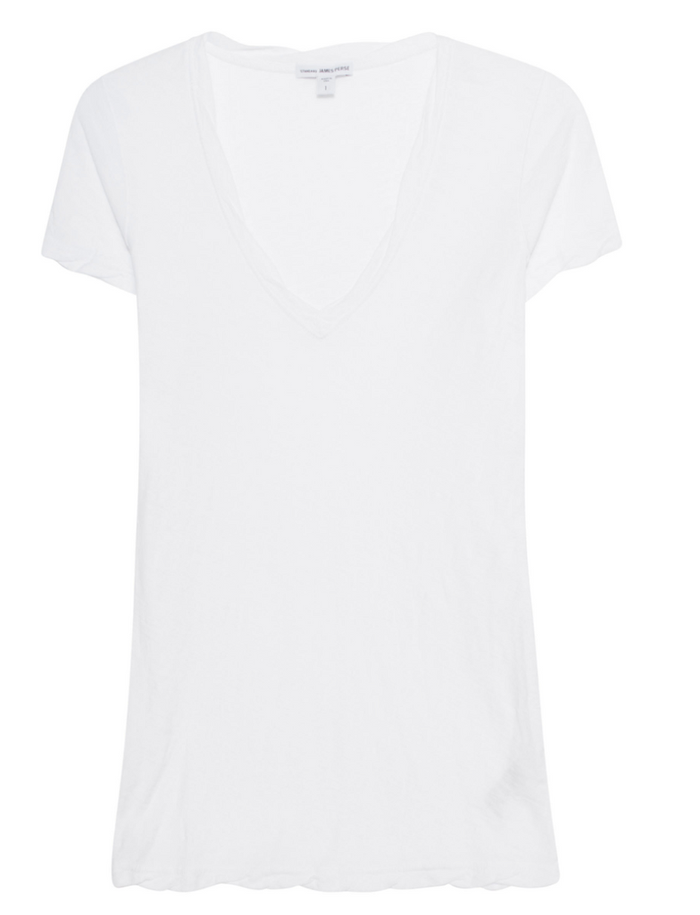 James Perse V-Neck Casual Tee