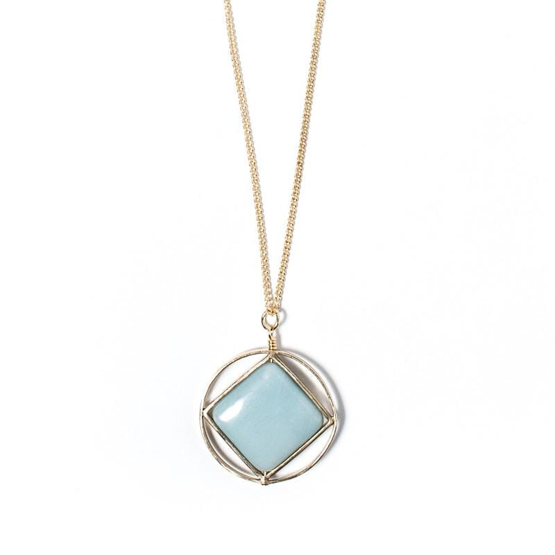 Theorem Necklace / Amazonite