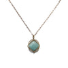 Vertex Necklace / Amazonite / SAMPLE - Michelle Starbuck Designs