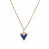 Helene Necklace / Blue Howlite - Michelle Starbuck Designs