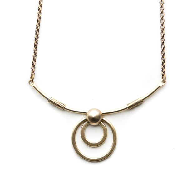 Concentric Circle Collar Necklace/ Limited Edition