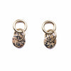 Linked Loop Earrings/ Dalmatian Jasper - Michelle Starbuck Designs