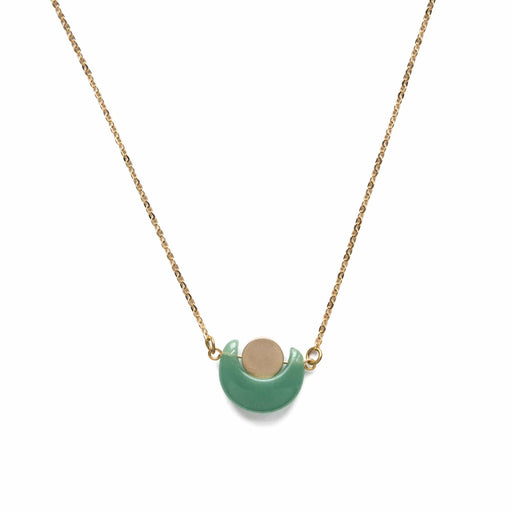 Eclipse Necklace / Green Aventurine - Michelle Starbuck Designs