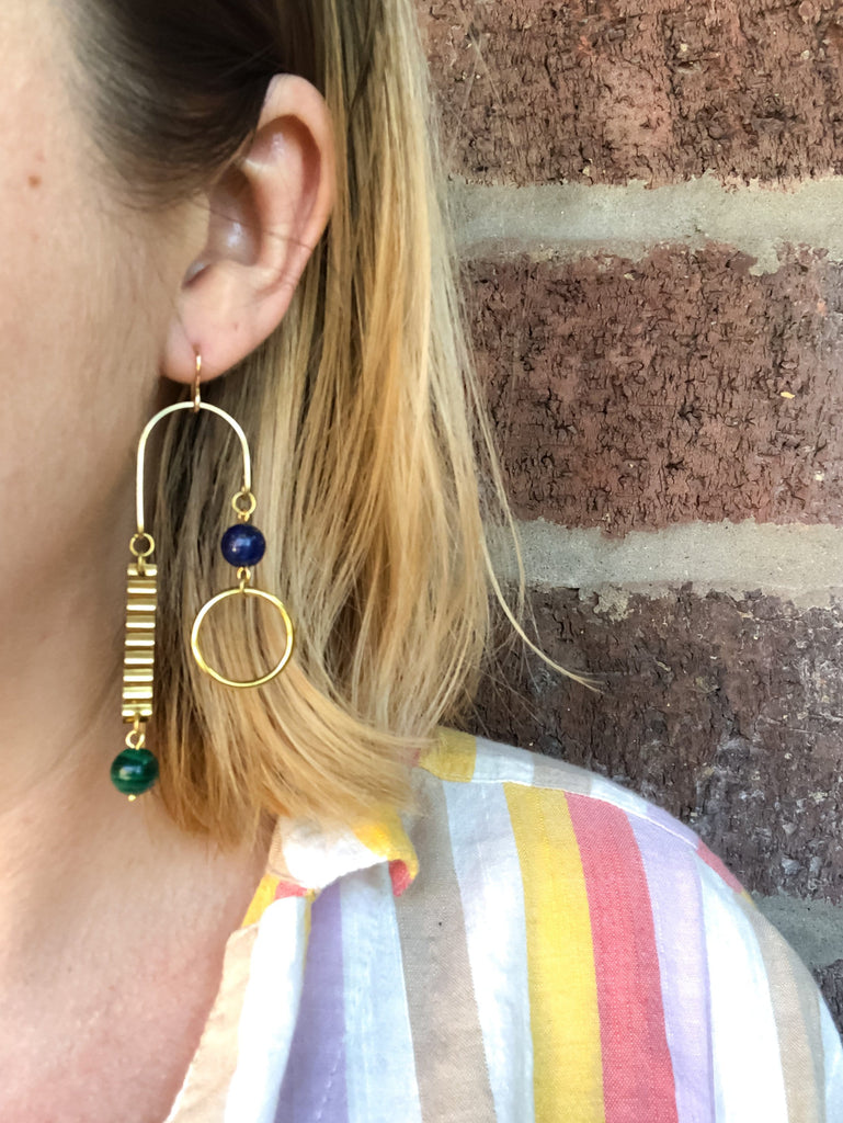 Doppler Earrings (customizable) - Michelle Starbuck Designs