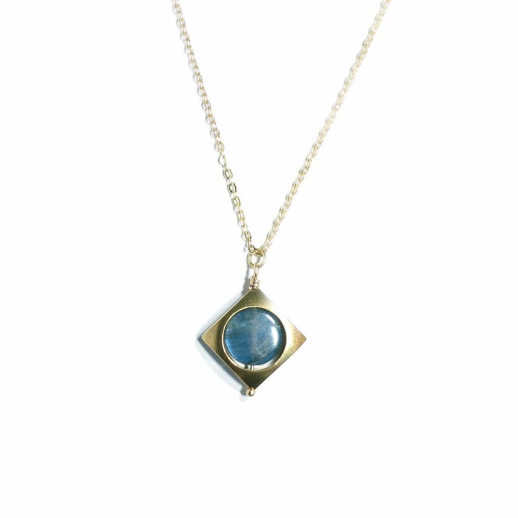 Mini Vega Necklace / Labradorite