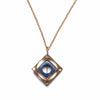 Optical Necklace / Lapis - Michelle Starbuck Designs