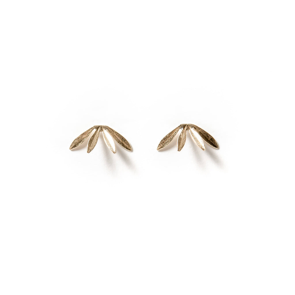 Laurel Studs - Michelle Starbuck Designs
