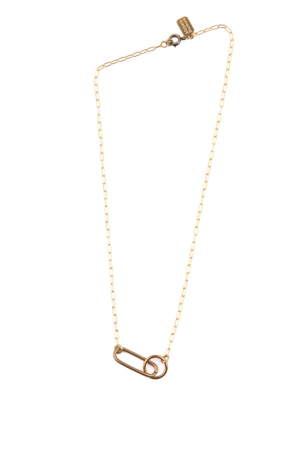 Linked Loop Necklace - Michelle Starbuck Designs
