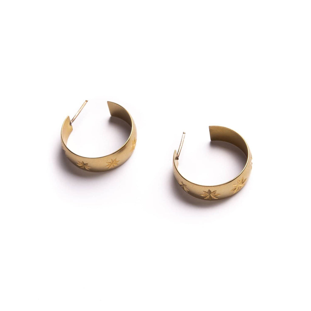 Luminary Hoops - Michelle Starbuck Designs