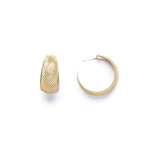 Mesh Hoops - Michelle Starbuck Designs