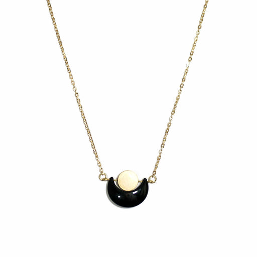 Eclipse Necklace / Onyx - Michelle Starbuck Designs