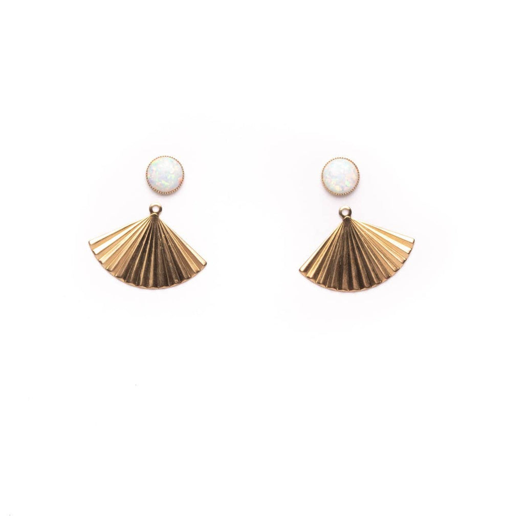 Pleat Jackets with Opal Studs - Michelle Starbuck Designs