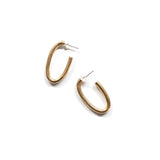 Carolyn Oval Hoops