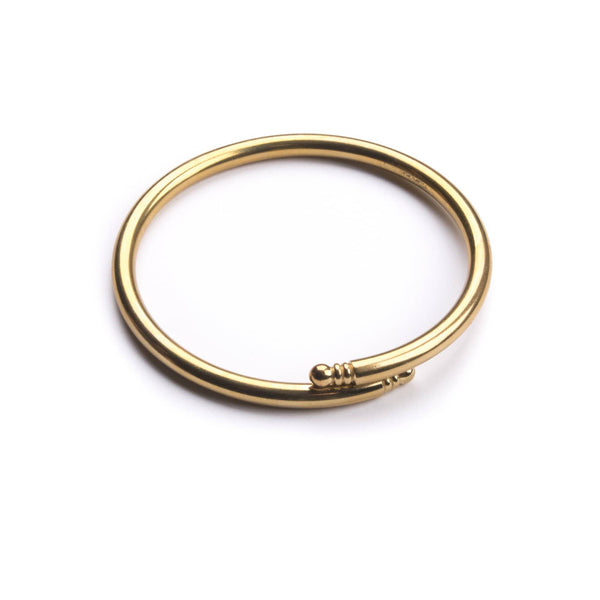 Vintage Overlap Bangle - Michelle Starbuck Designs