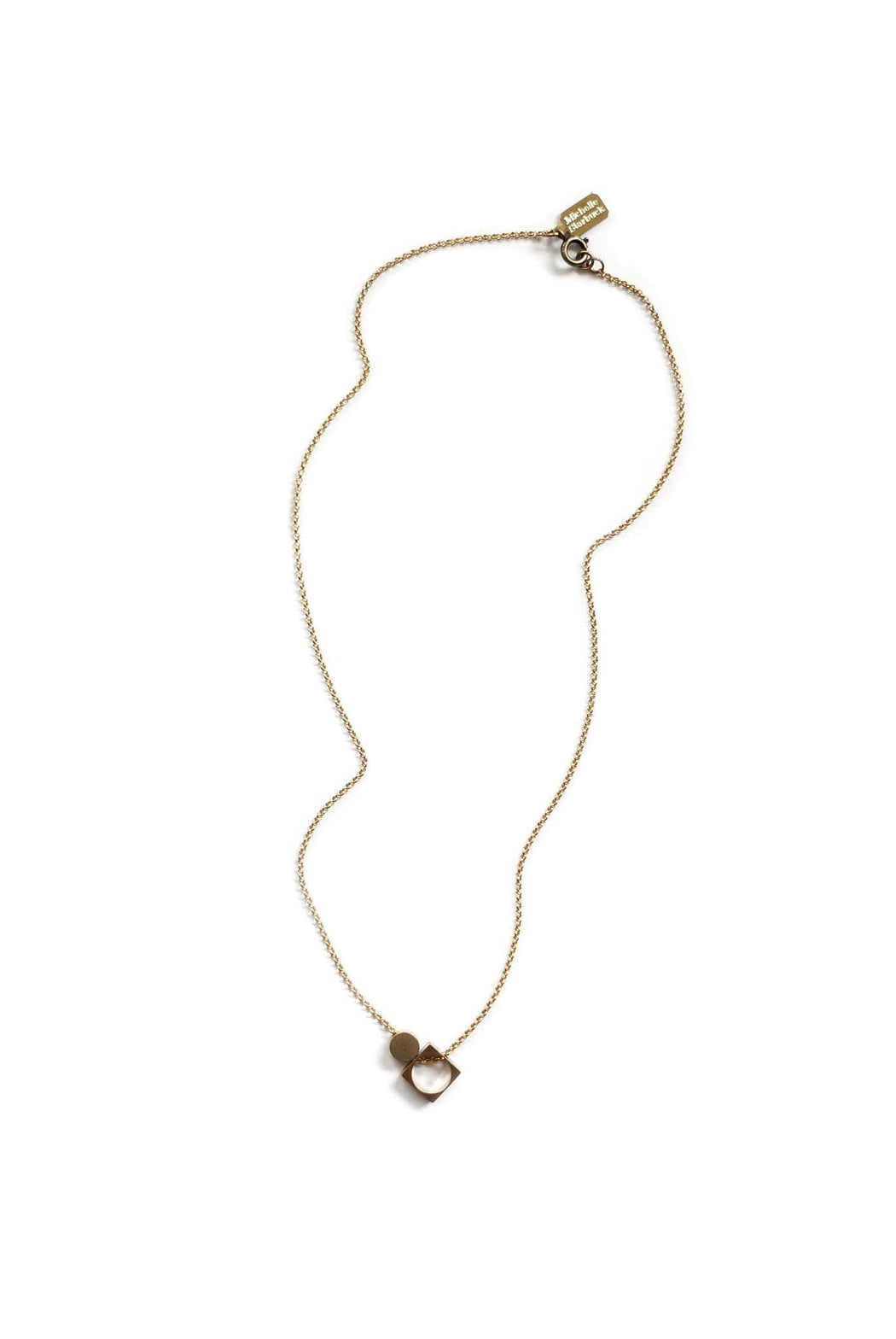 Asymmetrical Signature Necklace - Michelle Starbuck Designs