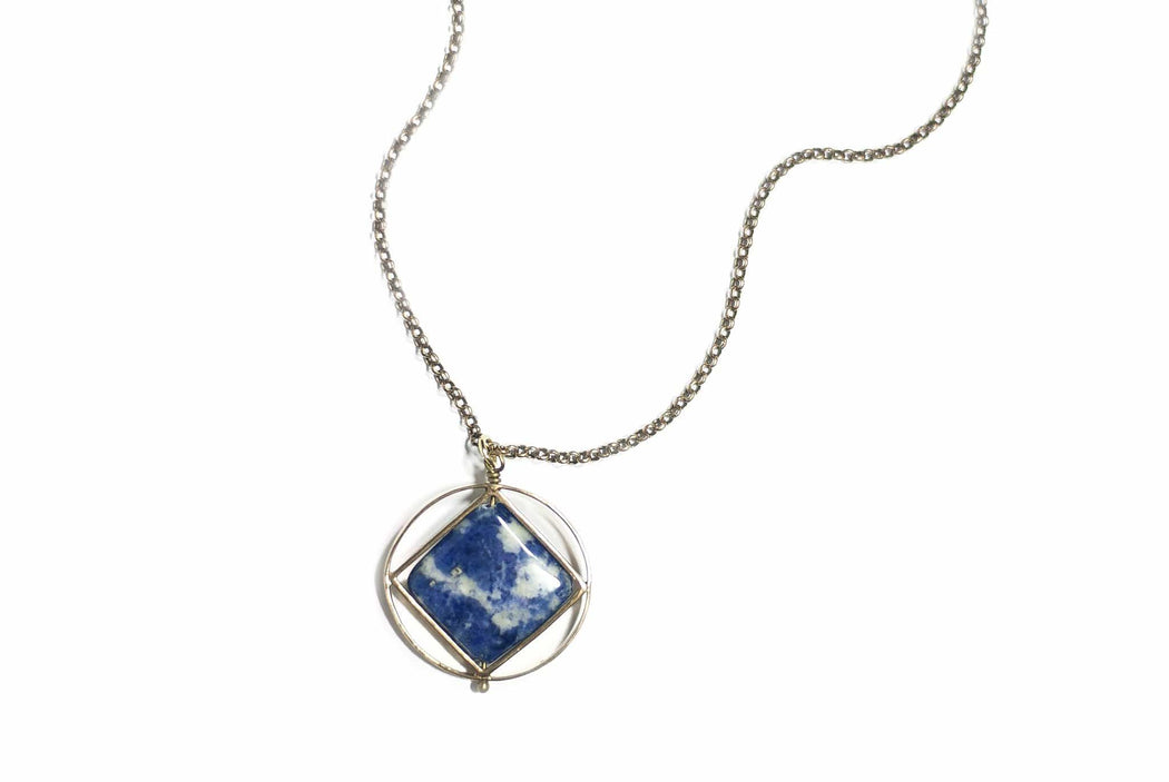 Theorem Necklace / Sodalite