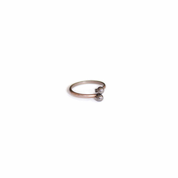 Vintage Steel Stacking Ring - Michelle Starbuck Designs