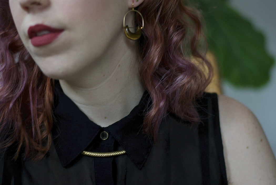 Continuum Collar Necklace - Michelle Starbuck Designs