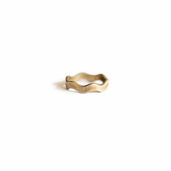 Vintage Wave Stacking Ring - Michelle Starbuck Designs