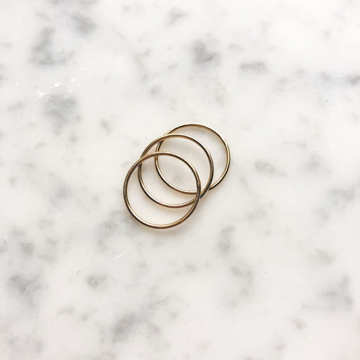 14kt Gold Filled Stacking Rings