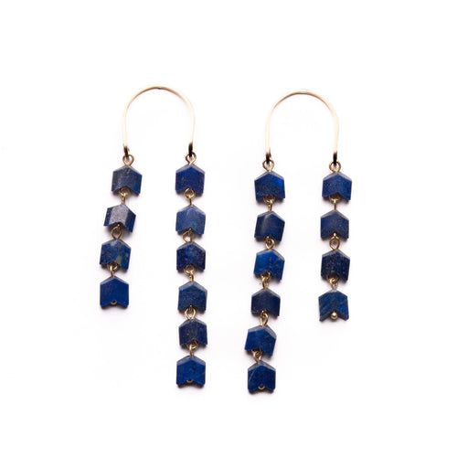Franklin House Earrings - Michelle Starbuck Designs