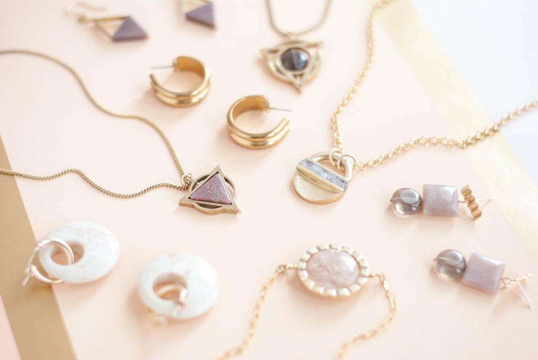 Channel Hoops - Michelle Starbuck Designs