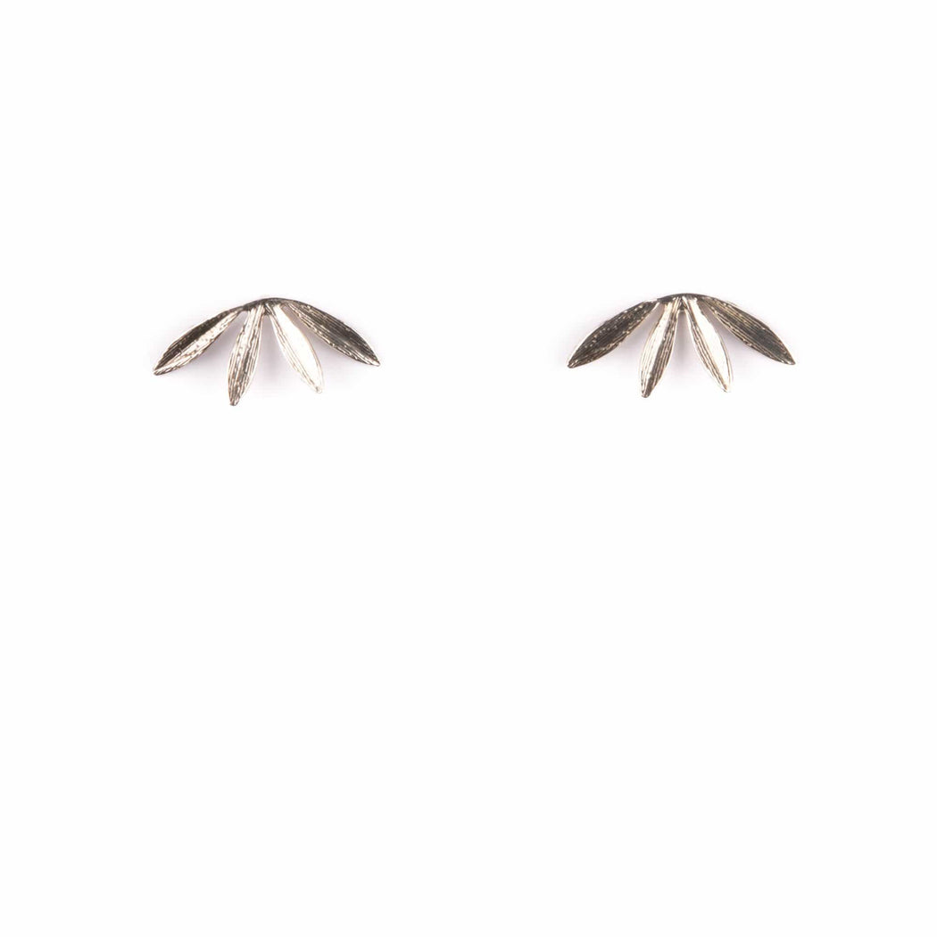 Laurel Studs / Sterling Silver - Michelle Starbuck Designs