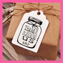 rustic wedding stamps